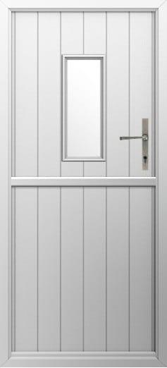 Composite Stable Door Flint 2 White