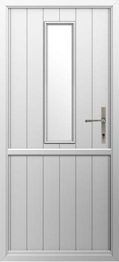 Composite Stable Door Flint 4 White