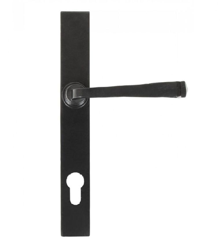 Composite Stable Door Traditional Avon Black Handle
