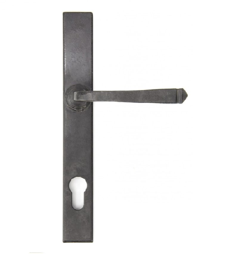 Composite Stable Door Traditional Avon Pewter Handle