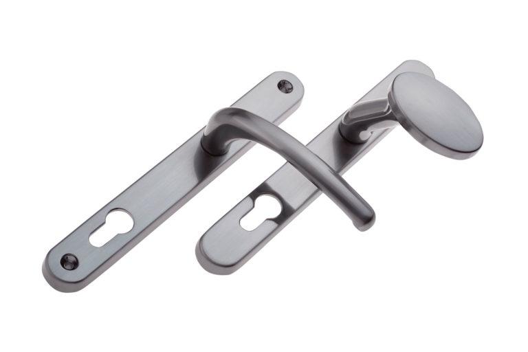 Graphite Lever Pad Door Handles