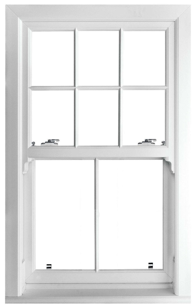 Heritage Vertical Slider Window Edwardian Design