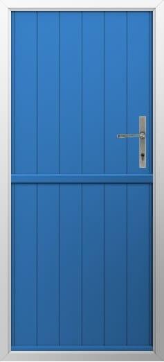 Stable Composite Door Flint Solid Colbolt Blue