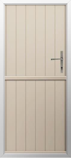 Stable Composite Door Flint Solid Cream