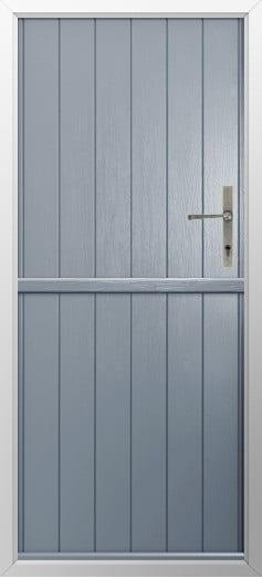 Stable Composite Door Flint Solid French Grey