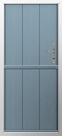 Stable Composite Door Flint Solid Twilight Grey