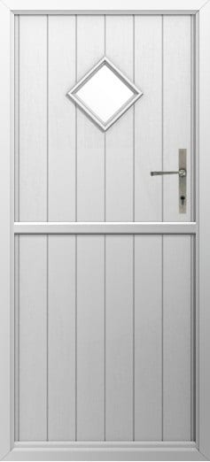 Stable Door Colours Flint Diamond White