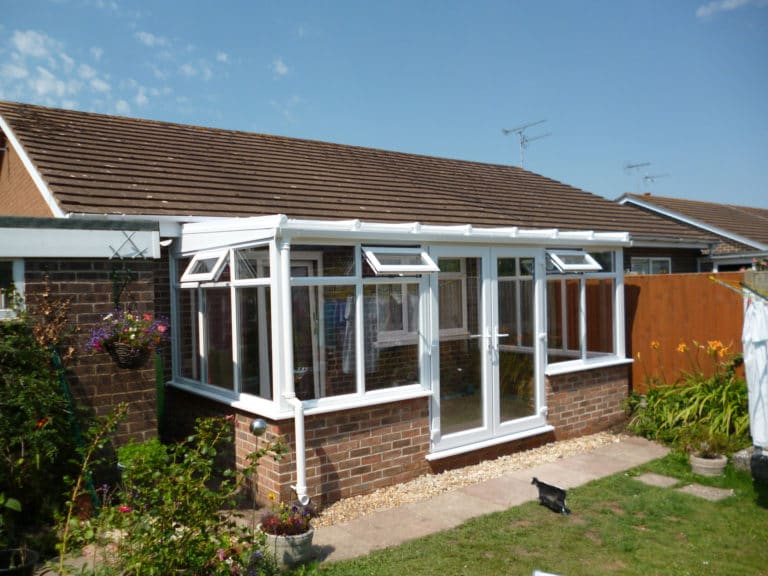 After Conservatory Double Glazed Poole Dorset