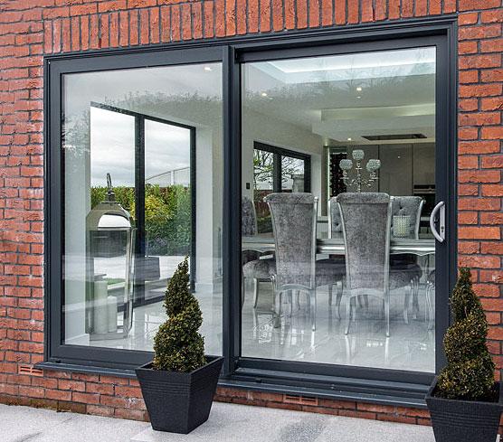 Aluminum Patio Door