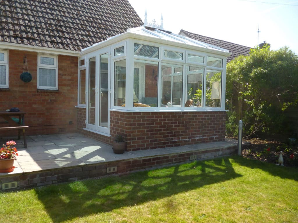 Conservatory Window Wareham After1