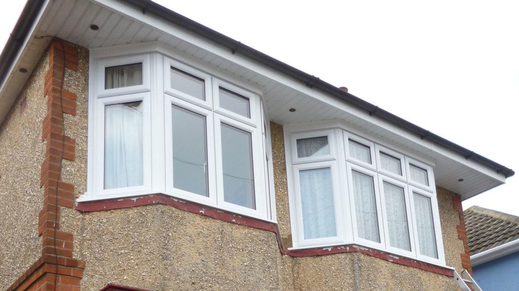 Double Glazed Bay Windows Upton Poole After