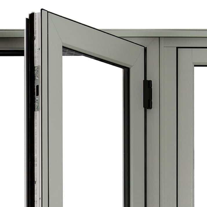 Heritage Doors Welded Corner