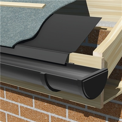 Roofline Under Felt Trim