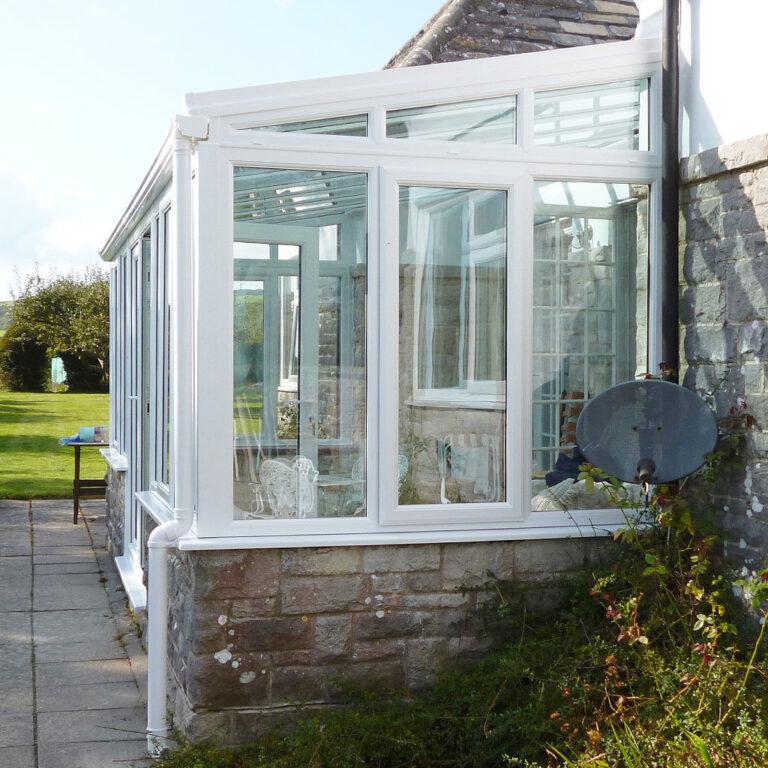 Polar Glaze Lean To Conservatory Style Option 1024