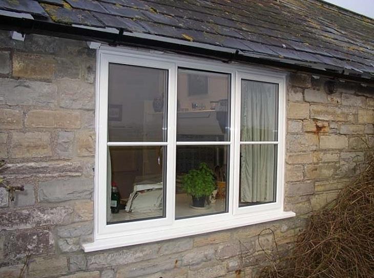 Aluminium Windows Traitional Style