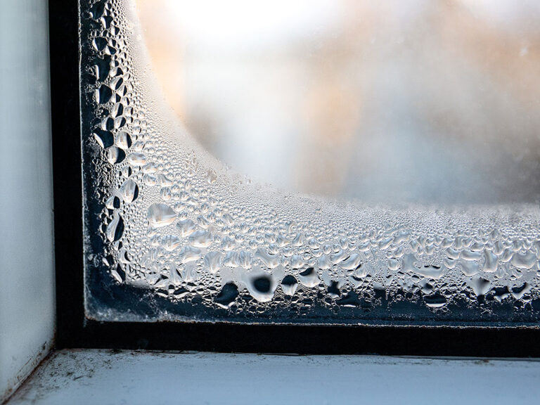 Condensation Inside Your Unit