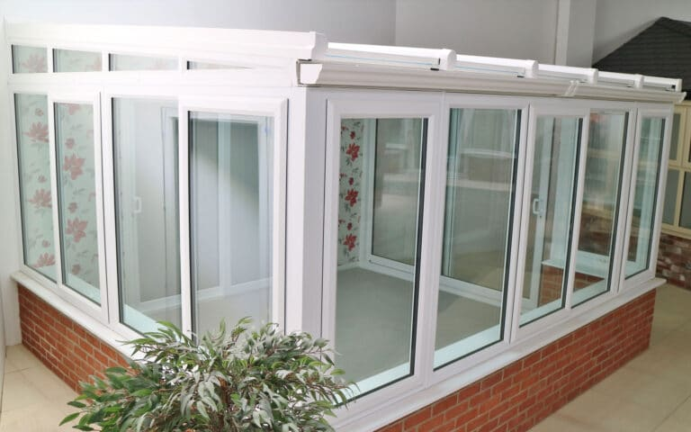 Polar Glaze Showroom Banner Lean To Conservatory 2560x1600px